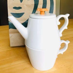⏬Price Drop🤩⭐️HP🌼Starbucks Tazo teapot
